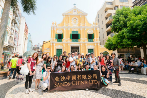 Sands China Team Members Take Cultural Tour of Macao