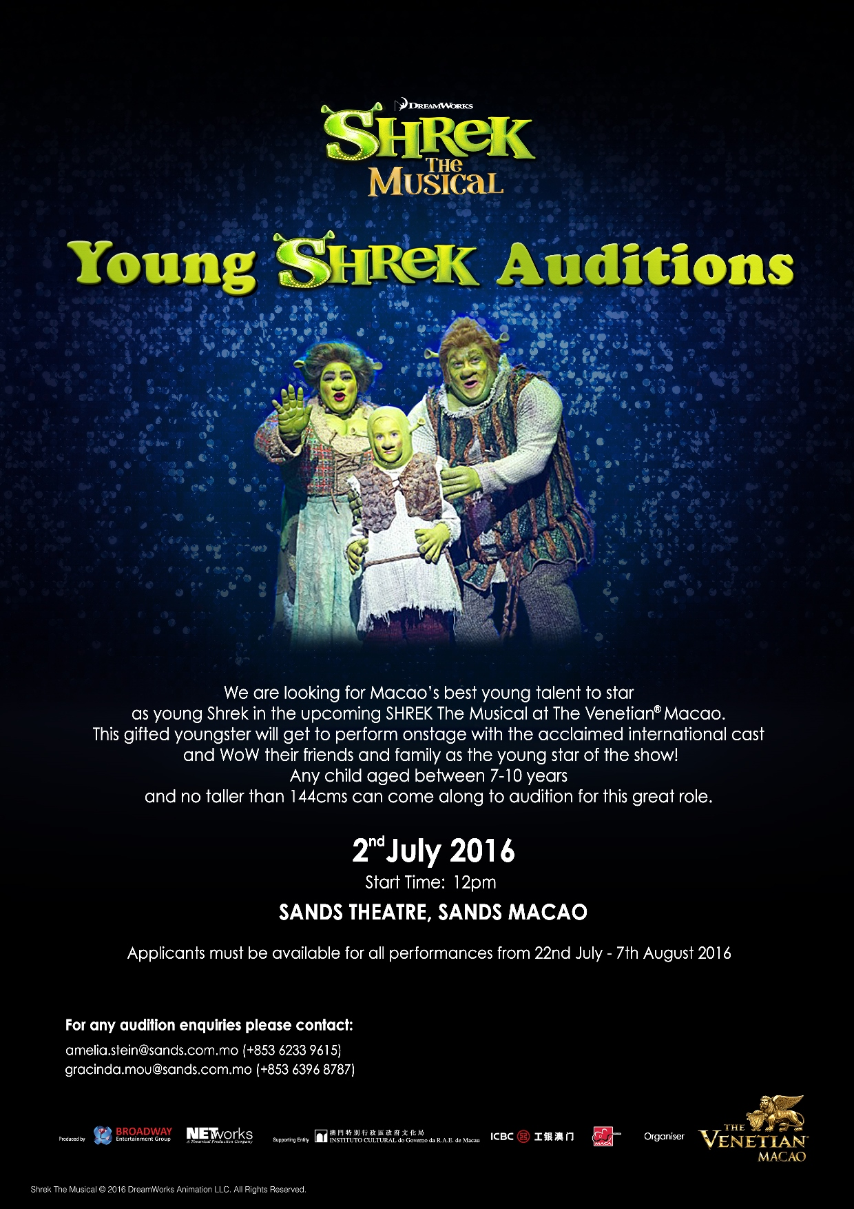 Young Shrek Audition