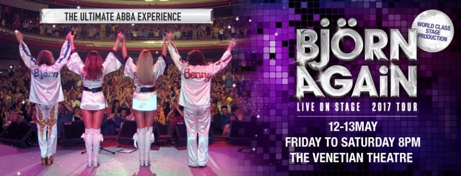 Bjorn Again – The Ultimate ABBA Experience Comes to The Venetian Macao