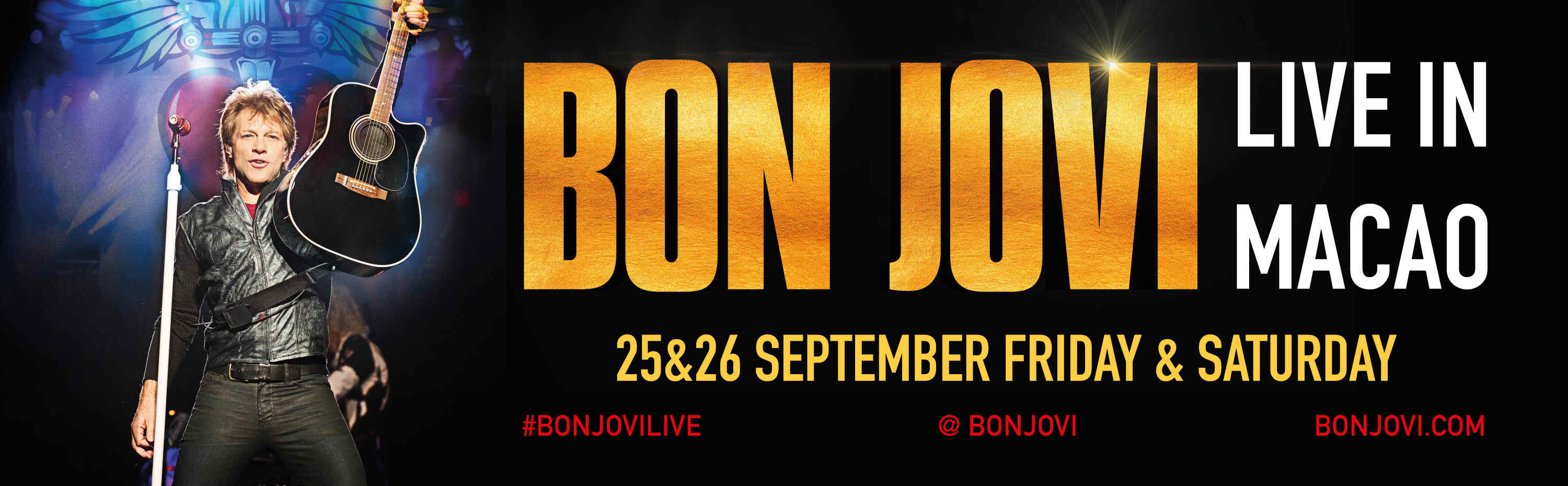Home Entertainment HOTTEST SHOWS & EVENTS Bon Jovi Live in Macao