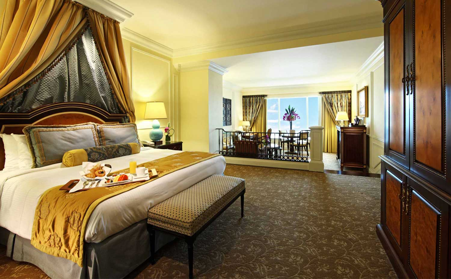 The Venetian MacaoのRoyale Suite、朝食付き