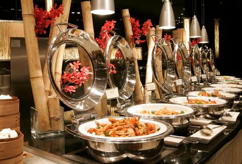 Bambu Buffet Venetian Hotel Dining Macao Lunch Dinner